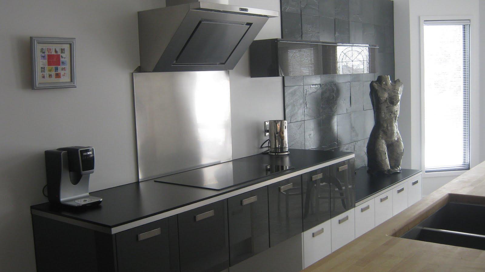ikea stainless steel backsplash stainless steel kitchen backsplash Grey Ikea Stainless Steel Backsplash With Wooden Kitchen Island