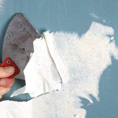 quiratibooks: removing vinyl wallpaper