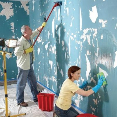 The Best Way to Remove Wallpaper | The Family Handyman