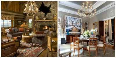 Country style interior design: features and design ideas of rural interior