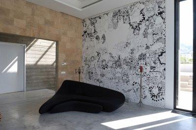 Futuristic Modern Beach House Called Fidar in Lebanon : HouseBeauty