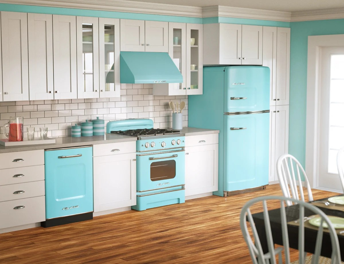 50s retro kitchens s kitchen table Big Chill retro kitchen
