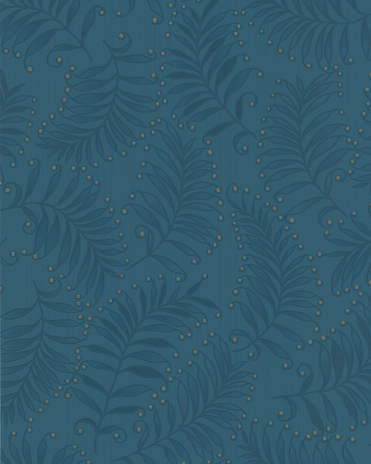 Graham & Brown Blue teal fern wallpaper - House of Fraser