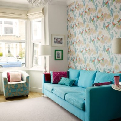 Colourful living room ideas - 20 of the best | housetohome.co.uk