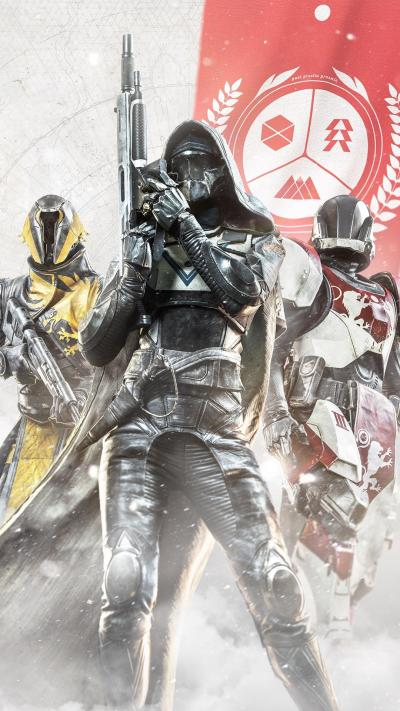 Destiny 2 Guardians - Download 4k wallpapers for iPhone and Android