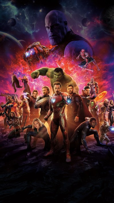 Infinity war Heroes - Download 4k wallpapers for iPhone and Android