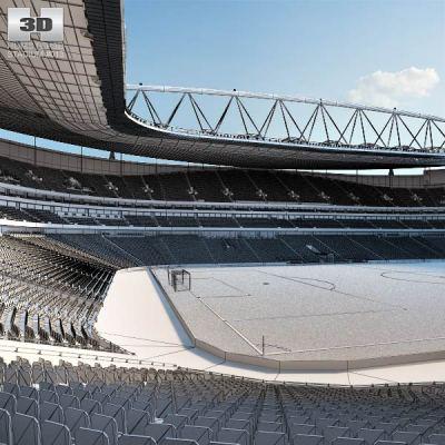 Emirates Stadium 3D model - Hum3D
