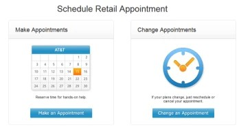 AT&T customers can now schedule an appointment online for an in-store visit - PhoneArena