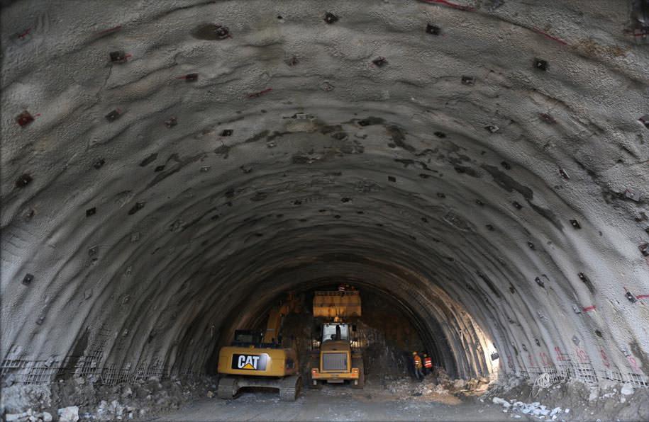 Ovit Tüneli'nde sona yaklaşılıyor - Sayfa 1 - Galeri - Türkiye - 08 Nisan 2017 Cumartesi