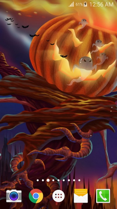 Halloween Live Wallpaper PRO Free Android Live Wallpaper download - Appraw