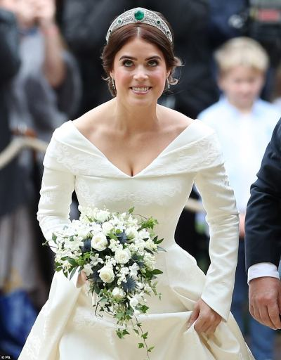 Princess Eugenie looks resplendent in first official pictures of her spectacular wedding | Daily ...