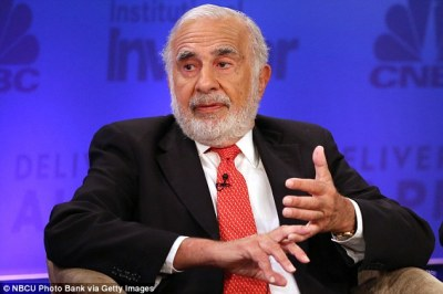 Trump advisor Carl Icahn sold $31m in stock in steel-dependent firm   Daily Mail Online