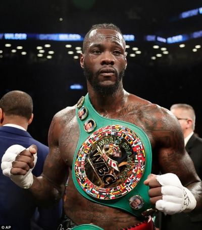 Deontay Wilder accepts Anthony Joshua's challenge and insists he 'is ready to come to the UK ...