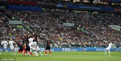 How Kieran Trippier bent it like Beckham to score England's opener   Daily Mail Online