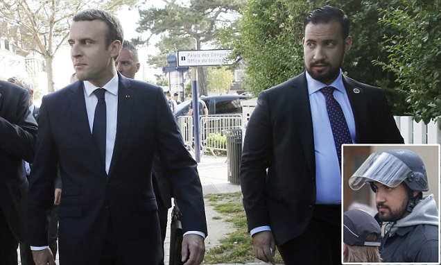 Emmanuel Macron says fired security chief Alexandre Benalla is not     Click For Photo
