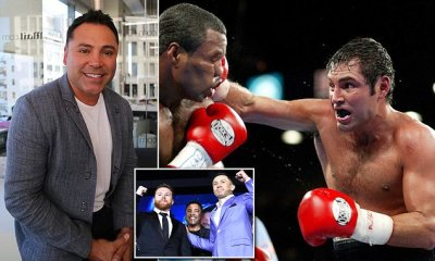 Oscar De La Hoya embraces controversy ahead of Golovkin-Canelo rematch | Daily Mail Online