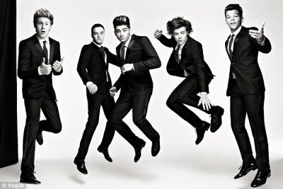 'We love the screaming': One Direction reveal their favourite thing about being superstars is ...