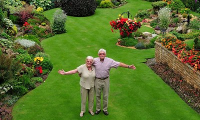 Is this Britain's most immaculate garden? Pensioner spends ...