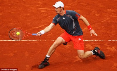 Andy Murray won't look past first round of French Open 2014 | Daily Mail Online