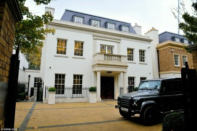 St John's Wood mansion is one of Britain's most expensive ever at £40m   Daily Mail Online
