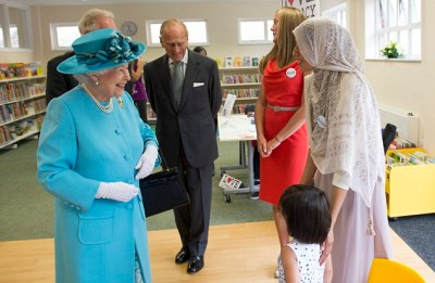 The Queen and Prince Philip get a rapturous reception in Dagenham   Daily Mail Online