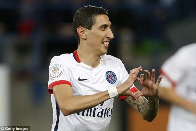 Angel Di Maria strikes twice and Zlatan Ibrahimovic scores wonder goal as PSG move 20 points ...