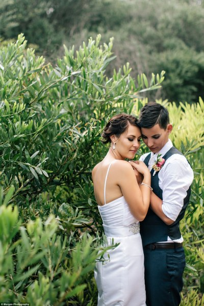 Lesbian couple have commitment ceremony in Sydney | Daily ...