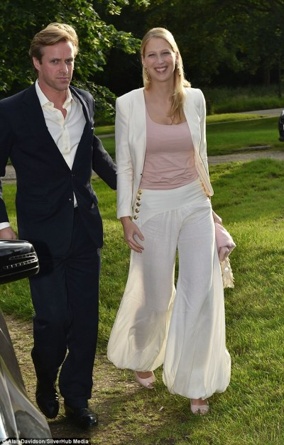Lady Gabriella Windsor treads in the turf divots at Cirencester Polo Club | Daily Mail Online