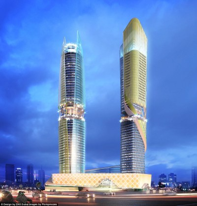 Dubai to open Hilton hotel with a rainforest | Daily Mail ...