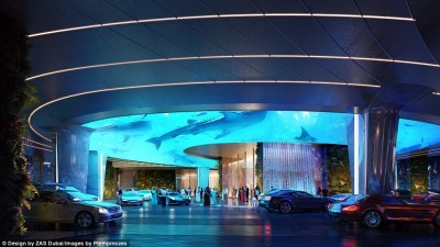 Dubai to open Hilton hotel with a rainforest | Daily Mail Online