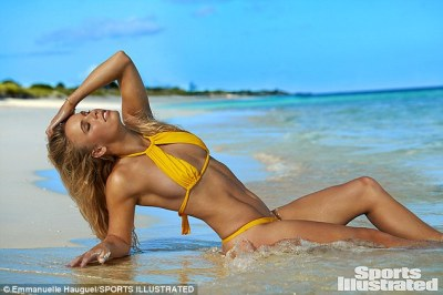 Caroline Wozniacki in Sports Illustrated Swimsuit Issue | Daily Mail Online