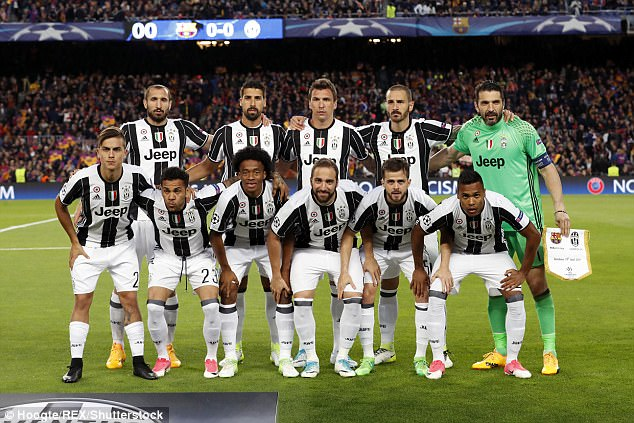 Juventus have been transformed by Massimiliano Allegri   Daily Mail     Juventus  starting XI against Barcelona was almost entirely different to  two years ago