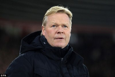 Everton will be ready to for Hajduk Split - Ronald Koeman | Daily Mail Online
