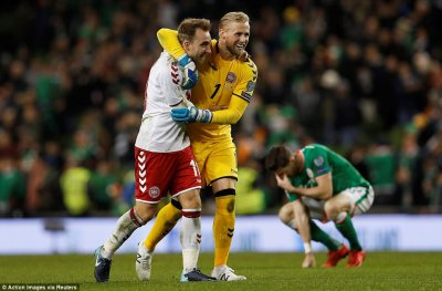 Republic of Ireland 1-5 Denmark: Match report   Daily Mail Online
