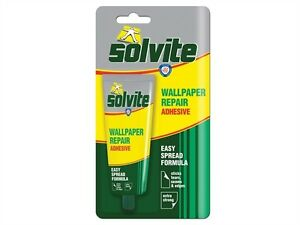 Solvite Wallpaper Repair Adhesive 56g Tube Also For Overlapping Seams | eBay