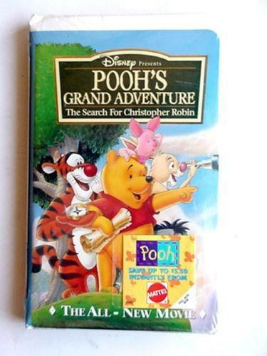 Pooh's Grand Adventure VHS | eBay