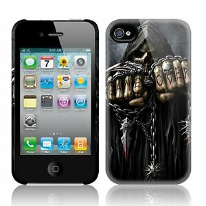 Spiral Direct GAME OVER Apple iPhone 4/4S Mobile Phone Case/Cover biker/tattoo | eBay