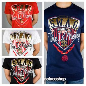 Time is Money SWAG t shirt, supreme hip hop urban graffiti tees, bling retro men | eBay