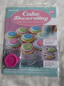 DeAGOSTINI CAKE DECORATING MAGAZINE CAKE TOPPER MOULD No 49 NEW   eBay Image is loading DeAGOSTINI CAKE DECORATING MAGAZINE CAKE TOPPER MOULD No