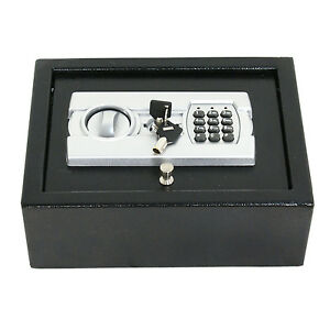 Electronic Safe Drawer Pistol Box Lock Storage Safes Cabinet Home Security Gun 692752556395   eBay