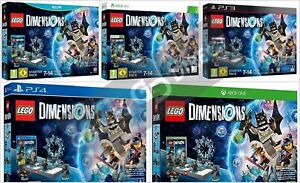LEGO DIMENSIONS: STARTER PACK - PS4 XBOX ONE 360 PS3 WII U - NEW & SEALED | eBay