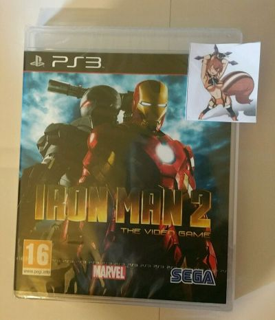Iron Man 2 PS3 New Sealed UK PAL Version Game Sony PlayStation 3 5055277006328 | eBay