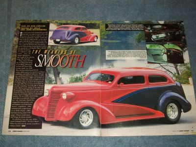 1938 Chevy Master Deluxe Sedan Article