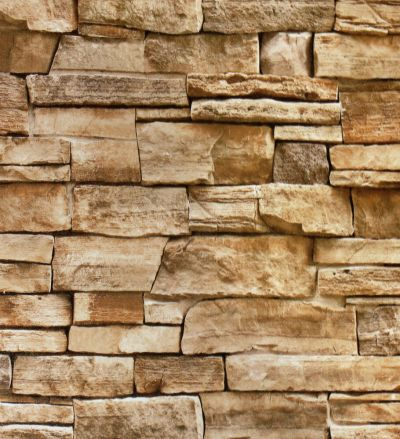Faux Stone Peel and Stick Wallpaper Lt.Grey/Sand Self Adhesive Contact Paper | eBay