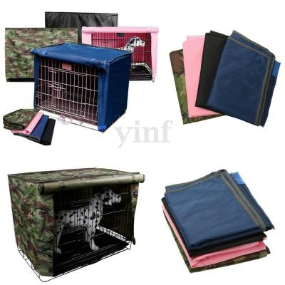 Dog Pet Crate Cage Kennel COVER Breathable Outdoor ...