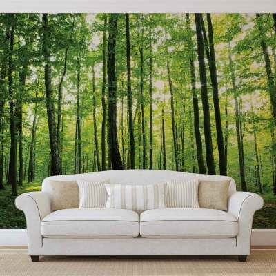 WALL MURAL PHOTO WALLPAPER XXL Flowers Forest Nature (186WS) | eBay