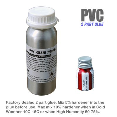 Seamax Professional 2 Part Glue Repair Kit for PVC or Hypalon Inflatable Boats | eBay