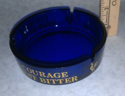 Courage Best Bitter with Rooster emblem Ash Tray Ashtray ...