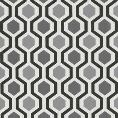 347-20133 Modern Geometric Black and White Trellis Wallpaper | eBay