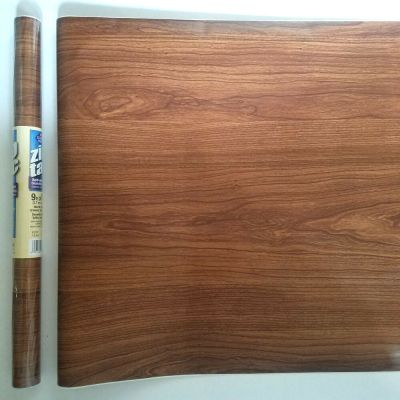 27ft Teak Wood Grain Shelf liner contact wall paper peel & stick | eBay
